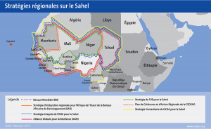 Sahel, Africa, Strategy, Map